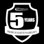 5 Year Premier Level Limited Component Warranty