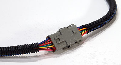 Loom Wrapped Wiring