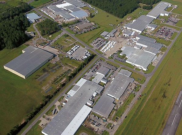 Robalo Factory in Nashville, GA.